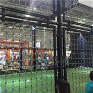 室内运动专用铁链足球场围网